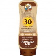 AUSTRALIAN GOLD LOTION SUNSCREEN INSTANT BRONZER SPF30