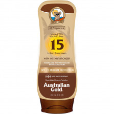 AUSTRALIAN GOLD LOTION SUNSCREEN ISTANT BRONZER SPF15