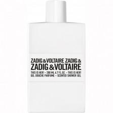 ZADIG&VOLTAIRE SCENTED SHOWER GEL 200ML